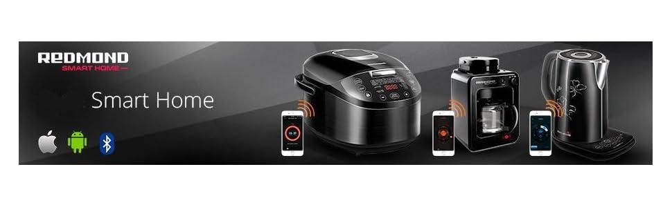 REDMOND SkyCooker M800S-E - Robot de cocina Smart, Wifi: Amazon.es ...