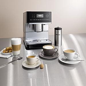 Miele Stand-Kaffeevollautomat, Kaffee, Getränkespezialitäten