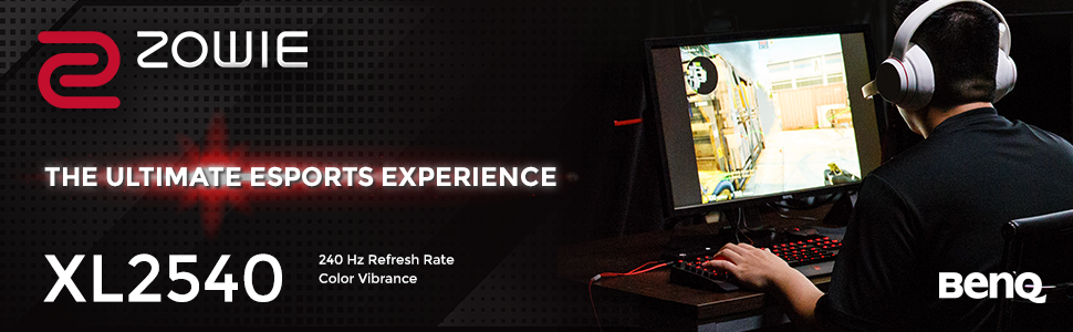 XL2540 240 Hz Refresh Rate Gaming Monitor