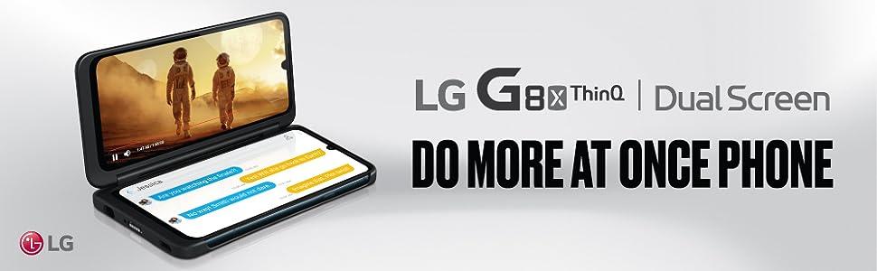 G8X ThinQ Dual Screen Smartphone
