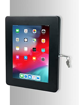 Premium locking wall mount for tablets