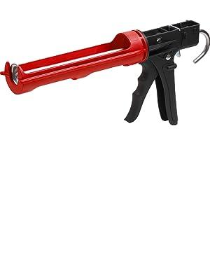 Auspresspistole Kartuschenpistole für 310 ml Kartuschen glatte Schubstange