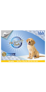 Premium Dog Training Pads - Most Absorbent  Best Puppy Pads, Better Than Ever!