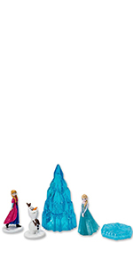 DecoPac Frozen Winter Magic Signature Cake Topper Set