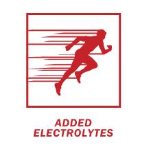 added eletrolytes