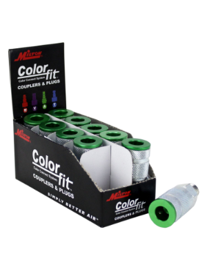 ColorFit HIGHFLOWPRO Green Couplers A-style