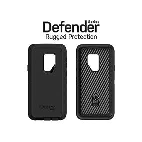OtterBox Defender SERIES Coque pour Samsung Galaxy S9 Noir (film protecteur d'écran non inclus)