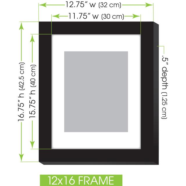 Amazon Com Gallery Perfect 7 Piece White Photo Frame Wall
