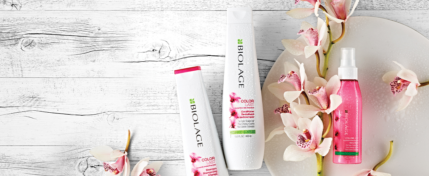 biolage colorlast conditioner shampoo hair care moisturizing color treated hair