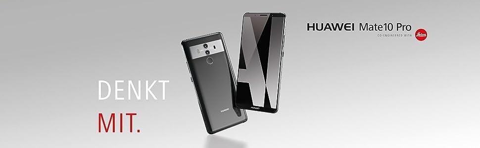 Huawei Mate 10 Pro Smartphone 6 Zoll Titanium Grau Elektronik