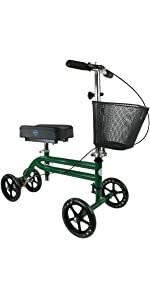 KneeRover Knee Scooter in Green