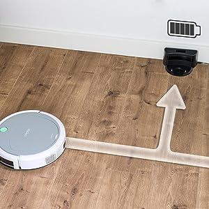Cecotec Robot Aspirador Conga serie 890. 1000 Pa, 2 en 1 Barre y ...