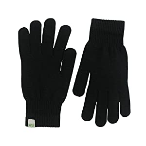Amazon.com: Minus33 Merino Wool Glove Liner Black, Black