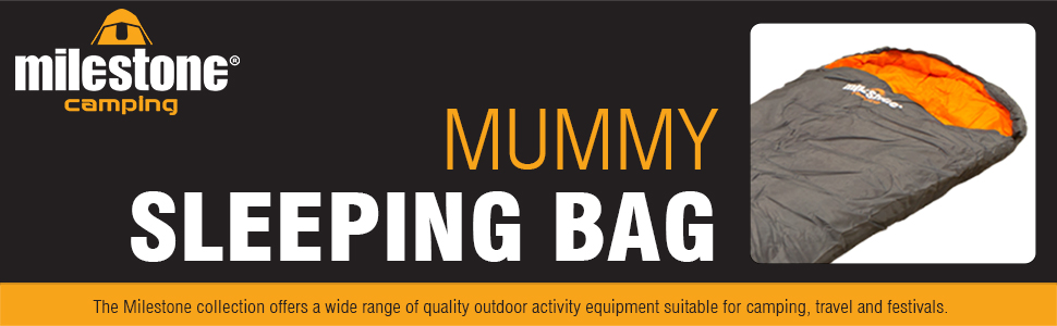 Mummy Sleeping Bag by Milestone