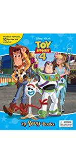 My Busy Books PawPatrol Phidal Board Books Toy Story 4 woody buzz