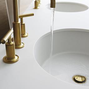 Kohler 2881 0 Vitreous China Undermount Round Bathroom