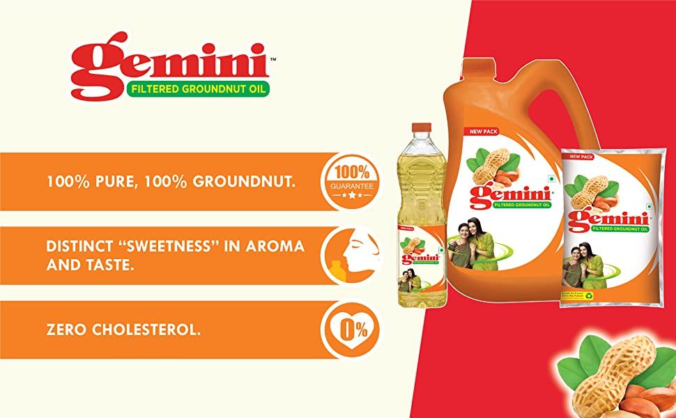Gemini Groundnut Oil