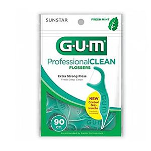 GUM flossers, Professional Clean