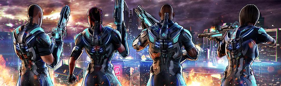 Crackdown 3, lançamento Crackdown 3, jogo multiplayer, jogue com os amigos com Xbox Live Gold