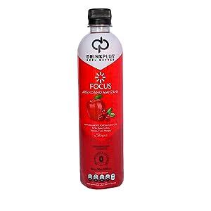 DrinkPlus Drink Plus Focus Arandano Manzana Stevia Monk Fruit Diabetico Keto
