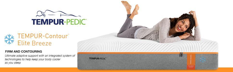 Amazoncom Tempur Pedic Tempur Contour Elite Breeze 12 Inch Firm