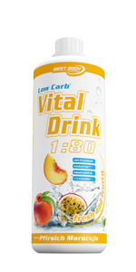 Best Body Nutrition Low Carb Vital Drink Pfrisich-Maracuja