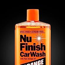 Nu Finish Car Wash Pure Orange