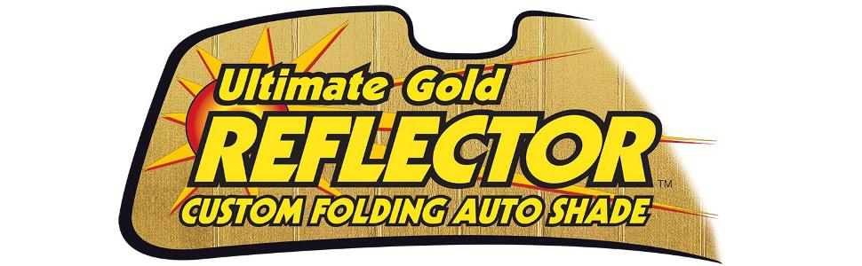 Intro-Tech Ultimate Reflector Custom Folding Auto Shade, Gold
