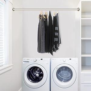 Laundry Room Hanger Rod
