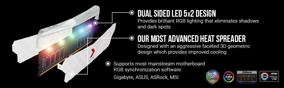 XLR8 Gaming Epic-X RGB DDR4 3200 MHZ Desktop Memory