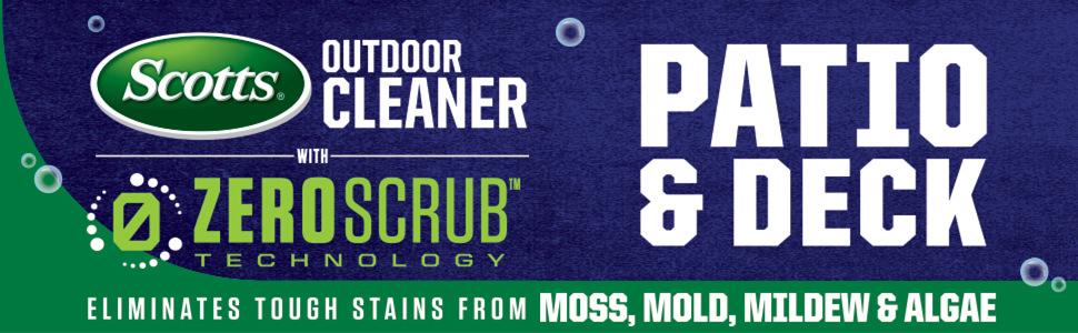 Amazon.com: Scotts - Limpiador para exteriores con ...