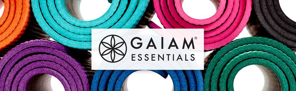 Amazon.com: Gaiam Essentials - Esterilla de yoga gruesa para ...