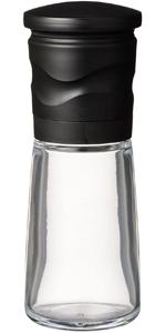 京セラ ミル セラミック 90ml ブラック スパイス ペッパー 結晶塩 粗さ調節機能 Kyocera CM-15N-BK