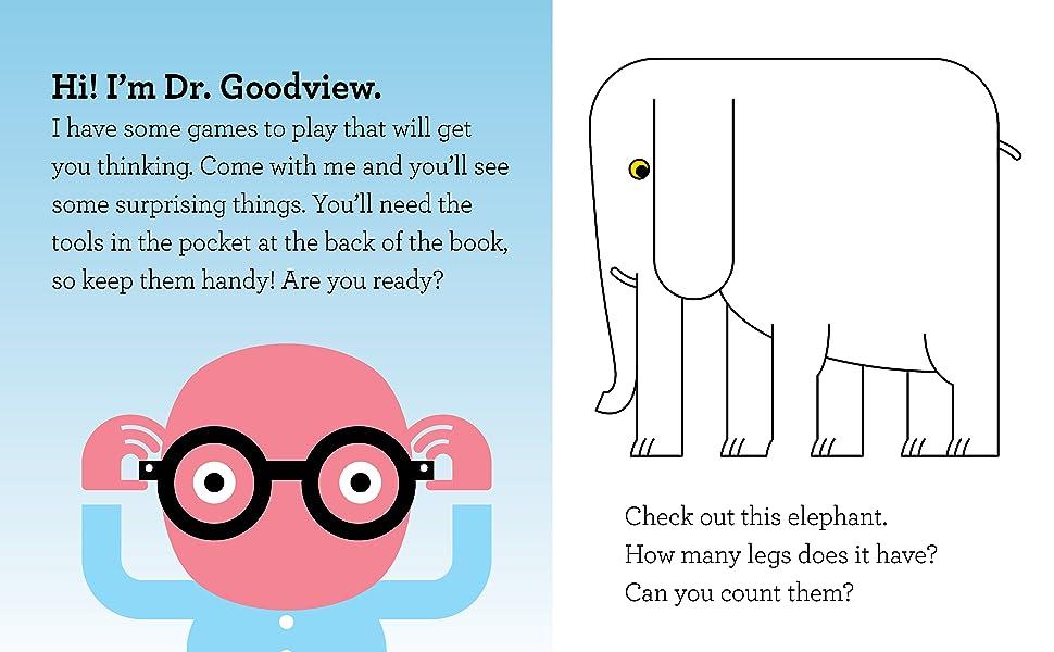 Look! Dr. Goodview, Schiffer Publishing, Schiffer Kids, kids books