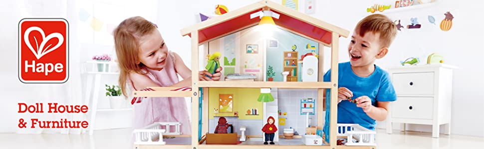 Hape Toys, Toys, Doll House, Dolls, Doll Furniture, Role Play, Kids, Preschool, Toddler