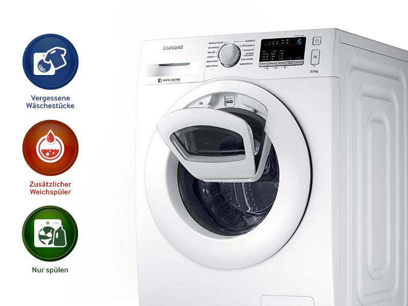 Samsung WW70K4420YWEG AddWash Waschmaschine FrontladerA+++1400UpM7 kgAddWashSmartCheckweiß