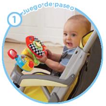 volante de paseo silla bebe