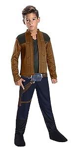 Han Solo Child Costume Halloween Sensations