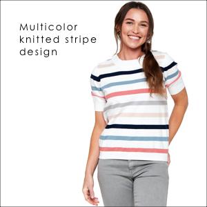 knittted stripe design