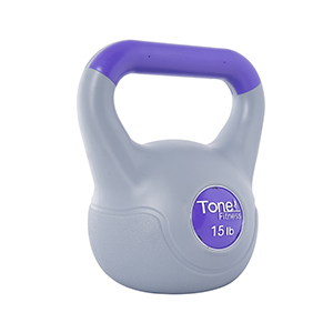 Amazon Com Tone Fitness Cement Filled Kettlebell 5