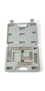 GROZ 3-Piece Machinist Steel Square Set | 16 Micron Squareness