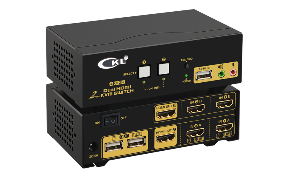Dual Monitor KVM CKL-922HUA
