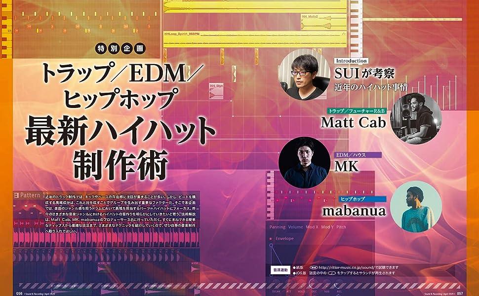 特別企画 最新ハイハット制作術 ~トラップ/EDM/ヒップホップ