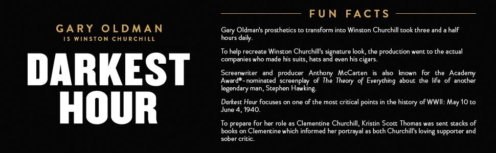 Darkest Hour, Gary Oldman, Winston Churchill, Dunkirk, WWII, World War II, Prime Minister, Oscar