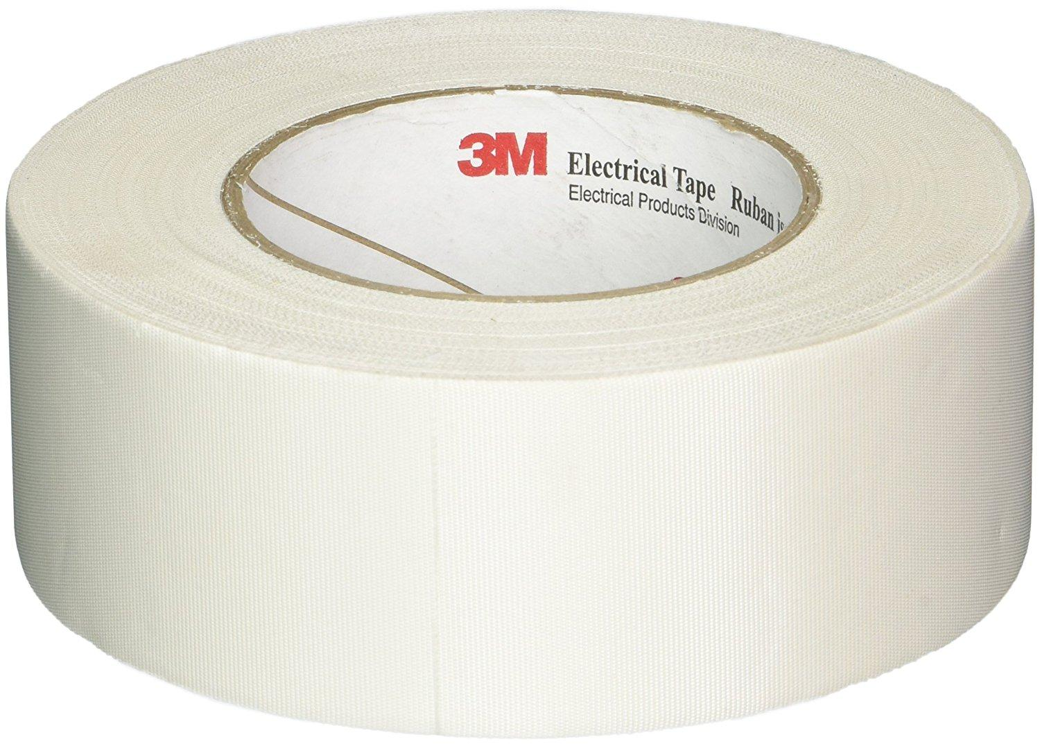 3m Glazing Tape : M glass cloth electrical tape white multiple sizes