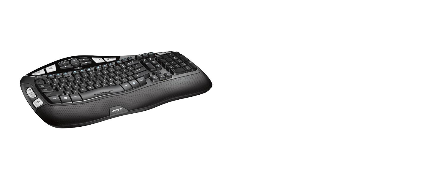 89854a8f8f1 Amazon.com: Logitech K350 2.4Ghz Wireless Keyboard: Electronics