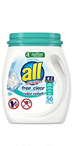 all mighty pacs free clear odor relief