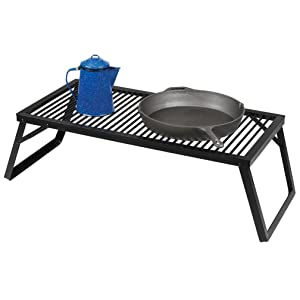 stansport camp fire cook grill