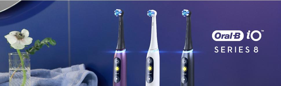 oral b oral-b oralb iO series 8 electric toothbrush electronic