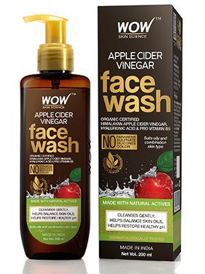WOW Skin Science Apple Cider Vinegar Face Wash